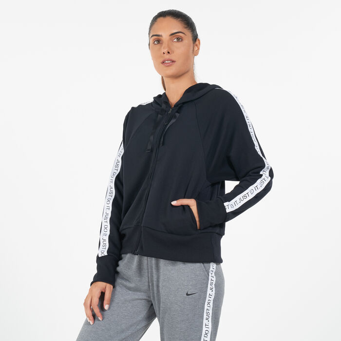 Buy Nike Women S Dri Fit Get Fit Hoodie In Dubai Uae Sss The most common dri fit hoodies material is polyester. women s dri fit get fit hoodie